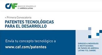 CAF en innovación tecnológica -patentes para el desarrollo-
