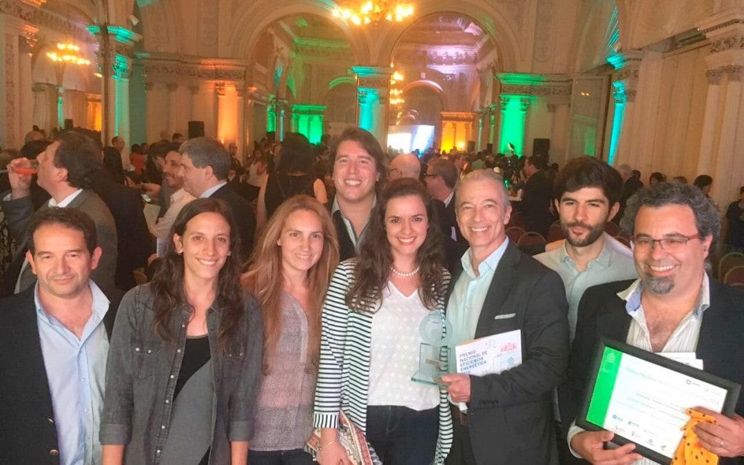El proyecto La Casa Uruguaya obtiene un nuevo galardón en 2016, el Premio Nacional de Eficiencia Energética