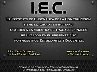 I.E.C  -Muestra de Trabajos Finales-