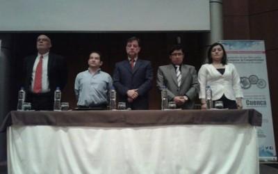 El Ing. Gómez Gómez participó el 26 de Noviembre junto al Superintendente de Control del Poder del Estado, del IX Congreso Internacional de Economía: Regulación  de los mercados para mejorar la competitividad de las industrias en el Ecuador y en el II Congreso Mundial de Medio Ambiente y Recursos  Naturales, con la presencia de mas de 700 personas.