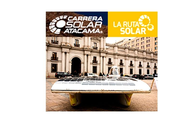 Gracias a Ruta Solar por la invitación formal para ser parte del evento de lanzamiento de Carrera Solar Atacama 2018