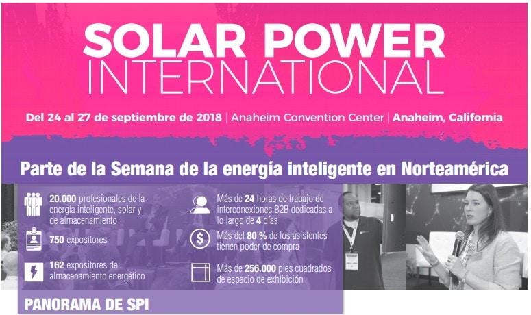 Semana dela energía inteligente en Norteamérica – Del 24 al 27 de septiembre de 2018